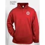 Badger Adult, Ladies & Youth 1/4 Zip Fleece Pullover (100% polyester)