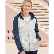 Mélange Fleece Full-Zip Sweatshirt