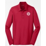 Adult  Long Sleeve Performance Polo (100% Polyester)